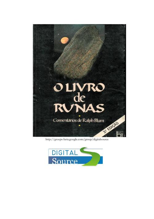 O livro de Runas