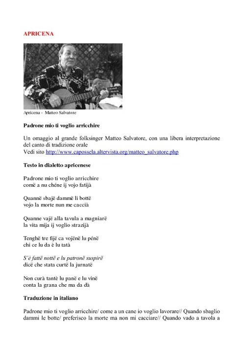 La musica folk nel Gargano