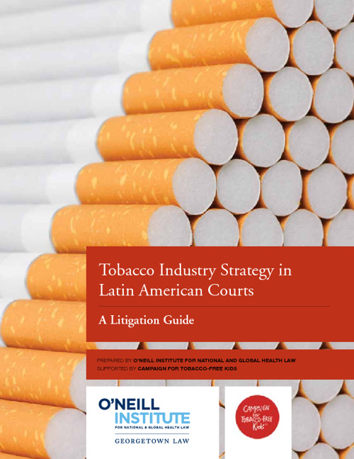 Tobacco Industry Strategy in Latin American Courts