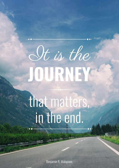 the journey that matters not the I can bet on the fact that this person i came across in the journey of life, would be the cheapest i can ever combat when it matters.