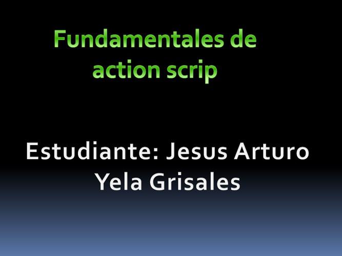 fundamentales de action scrip