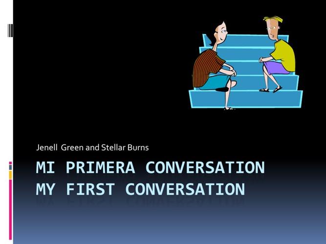 Mi Primera Conversation