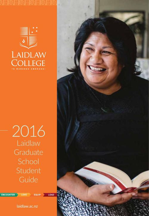 Laidlaw Graduate School Student Guide 2016