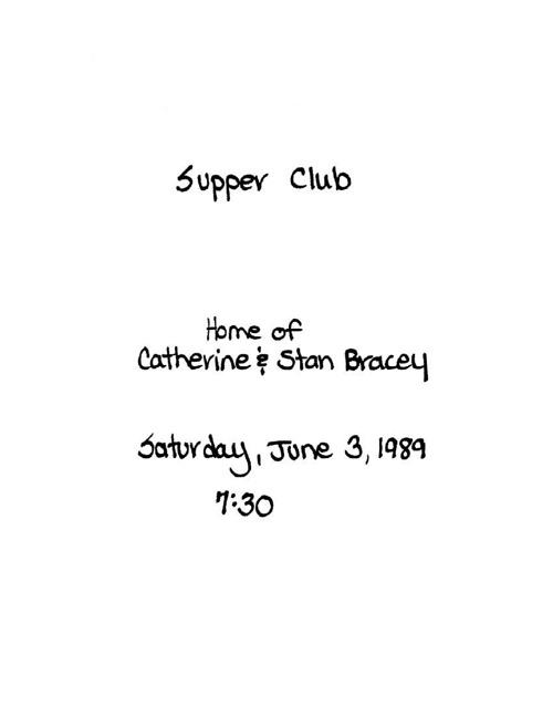 Bracey June 1989