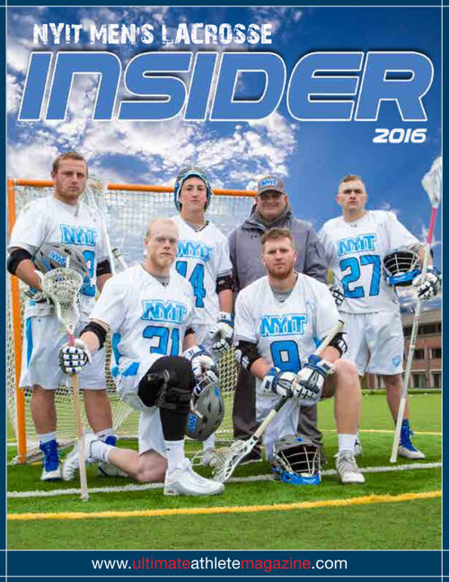 NYIT Men's Lacrosse Yearbook 2016
