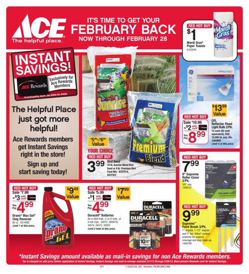 It's Time to Get Your February Back! Now through February 28th!