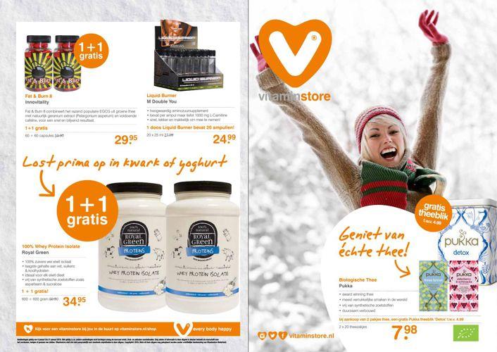 Vitaminstore - Flyer januari 2015
