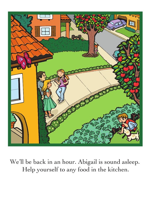 Find the Super Crew in Super Baby Abigail's Lunchtime Adventure