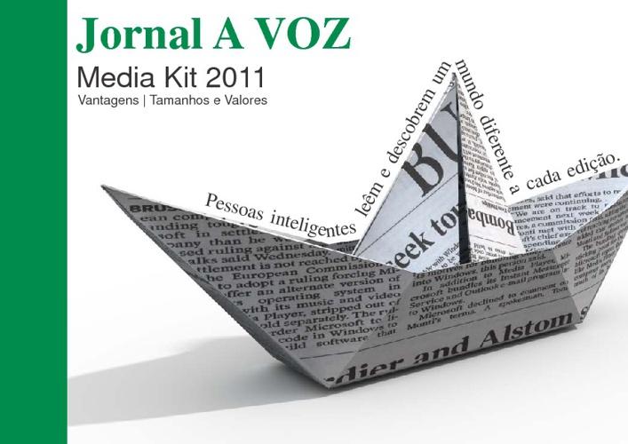 Midia Kit Jornal A VOZ