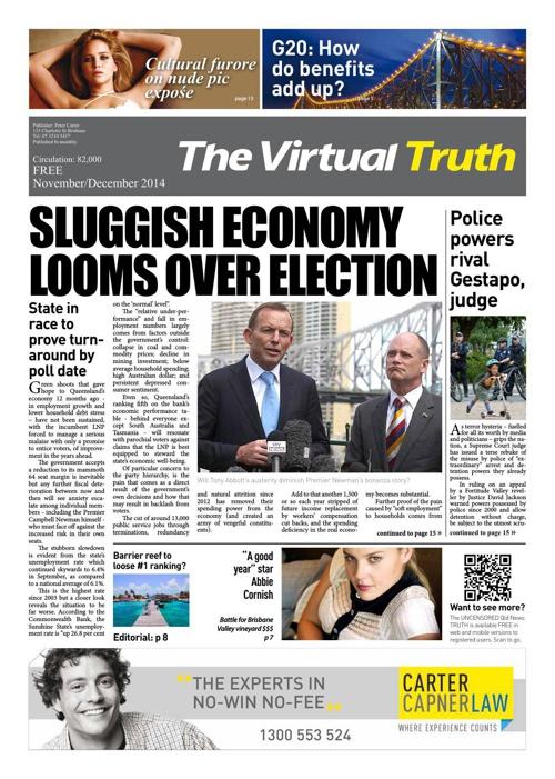 The Truth November - December 2014