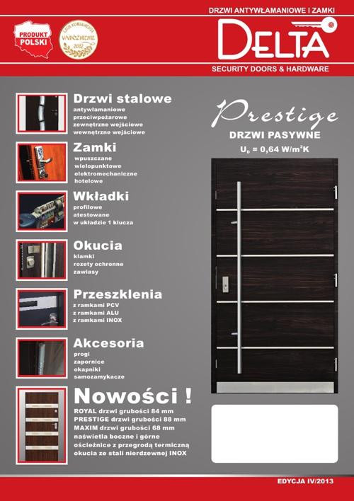 DELTA Drzwi zewnętrzne 2013
