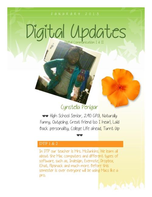 Digital Updates Newsletter.
