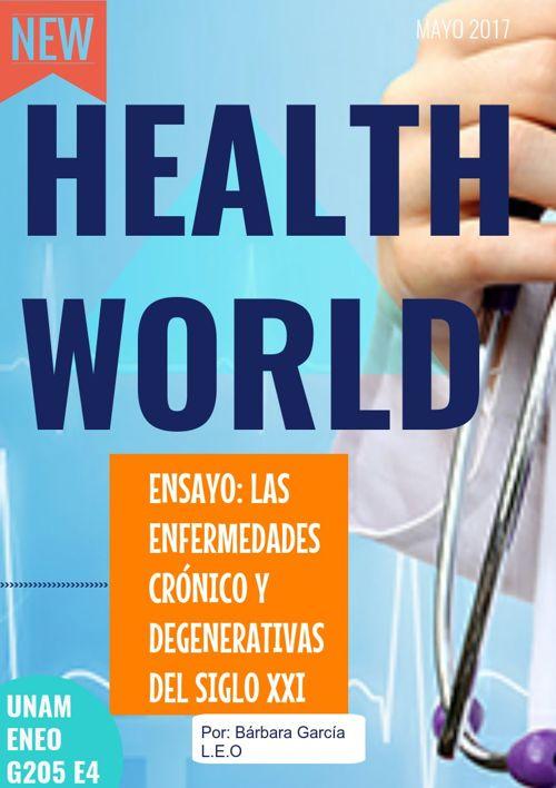 """Ensayo:  """"Las enfermedades crónico y degenerativas"""" ENEO"""