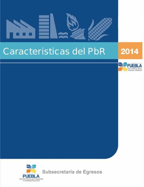 carácterísticas del PbR