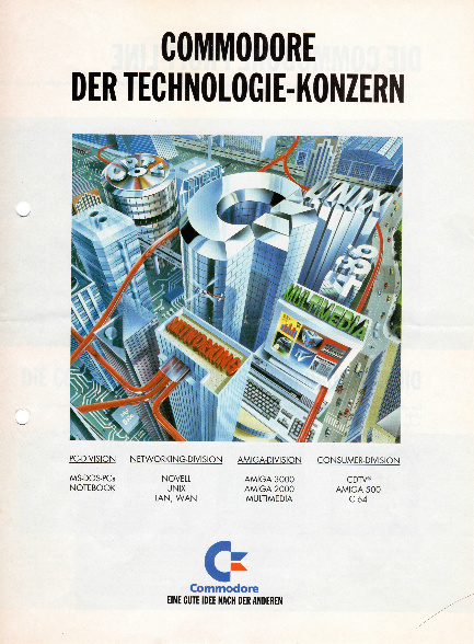 Commodore der Technologie-Konzern