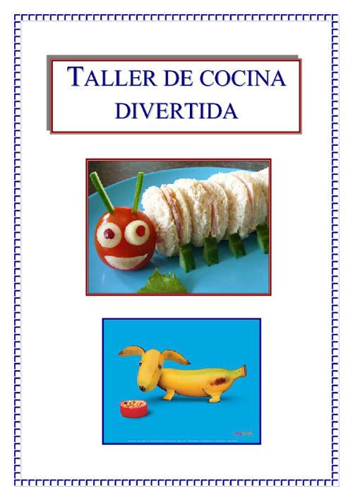 TALLER DE COCINA DIVERTIDA PARA LOS ALUMNOS DE 3º Y 4º
