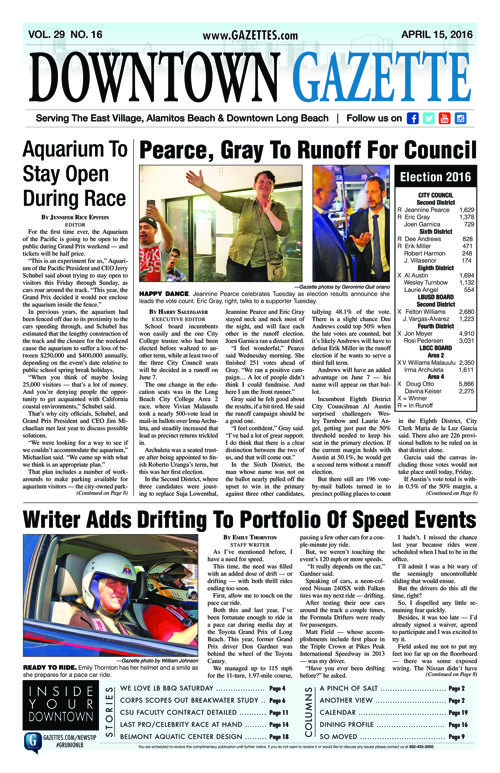 Downtown Gazette  |  April 15, 2016