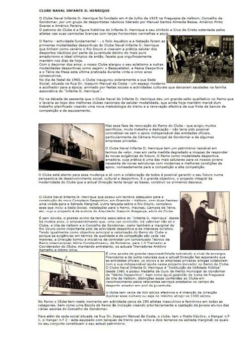 A HISTÓRIA DO CLUBE