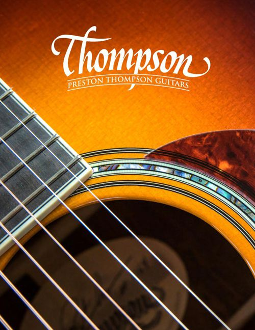 Preston Thompson Guitars Catalog