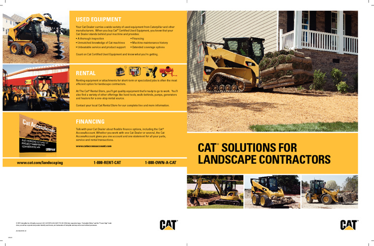CAT Solutions for Landscape Contractors