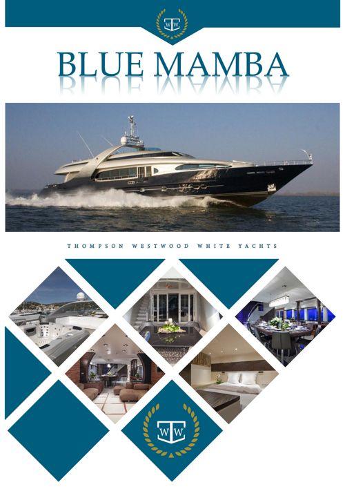 BLUE MAMBA 38.7m Oceanline superyacht