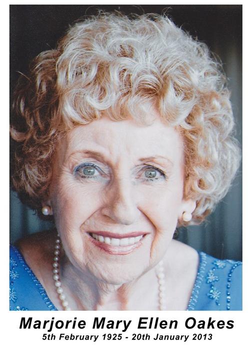 Marjorie Oakes