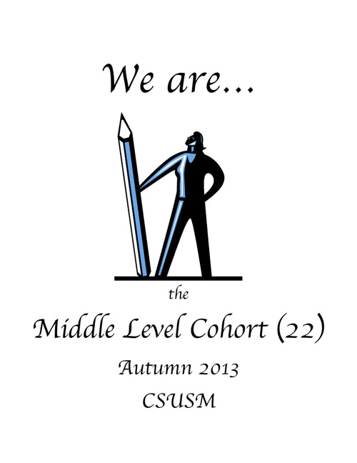 We are the Middle Level Cohort (22) Autumn 2013 final