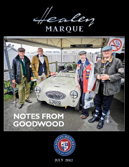 July Healey Marque 2012