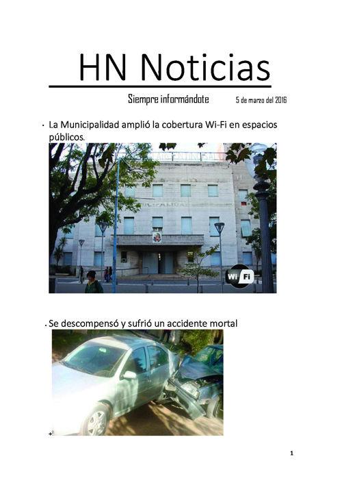 HN Noticias alejandra B