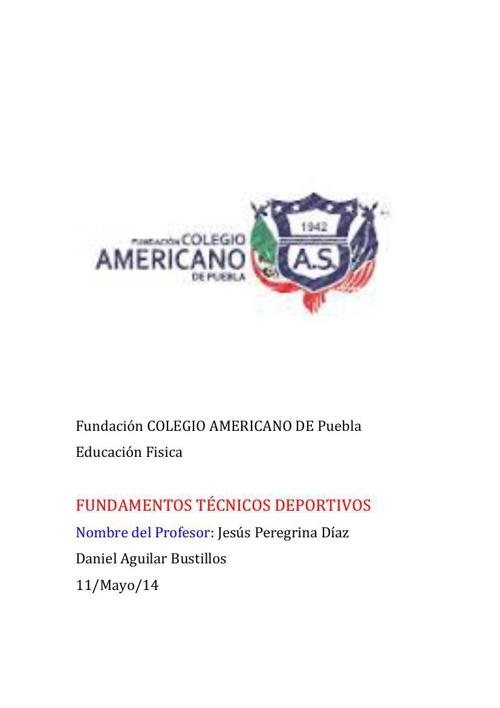 Fundación COLEGIO AMERICANO DE Puebla