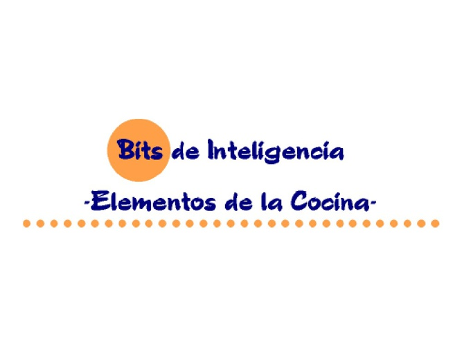 ELEMENTOS DE COCINA
