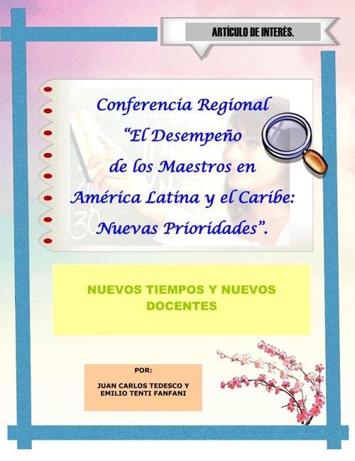 El Desempeño de los Maestros en América Latina y el Caribe