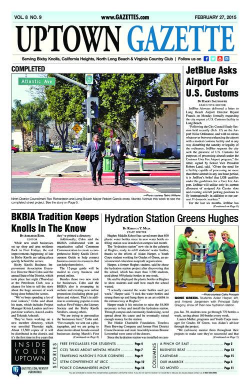 Uptown Gazette  |  February 27, 2015
