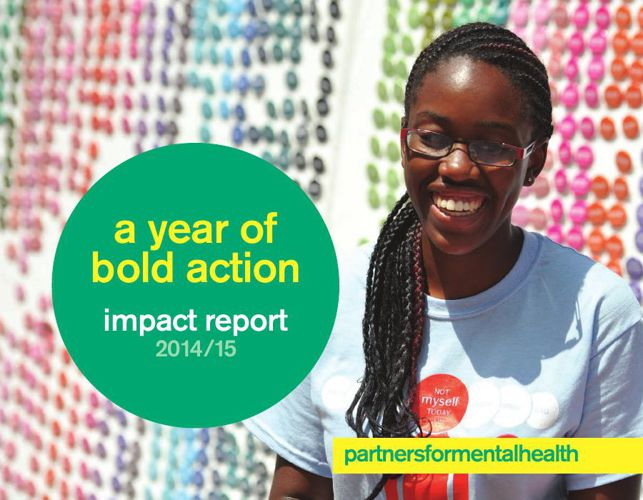 Partners for Mental Health - 2014/15 Impact Report