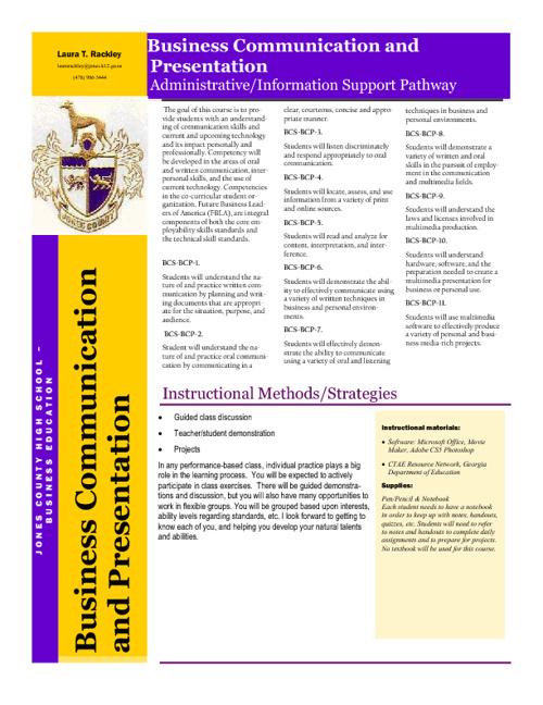 BCP Syllabus (Rackley)