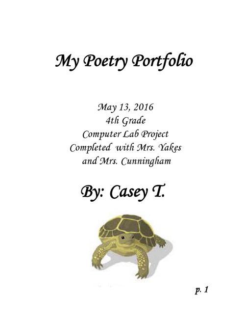 Poetry-Portfolio-Casey T.