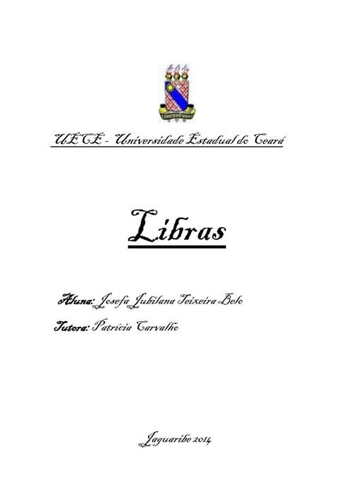 ATIVIDADE 2 - LIBRAS
