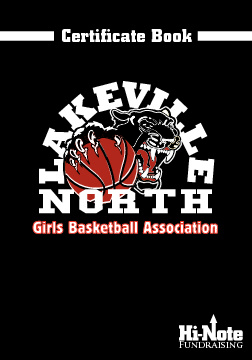 Lakeville North Girls Basketball Certificate Book