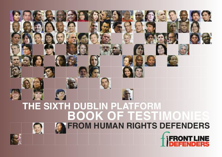 Sixth Dublin Platform Book of Testimonies