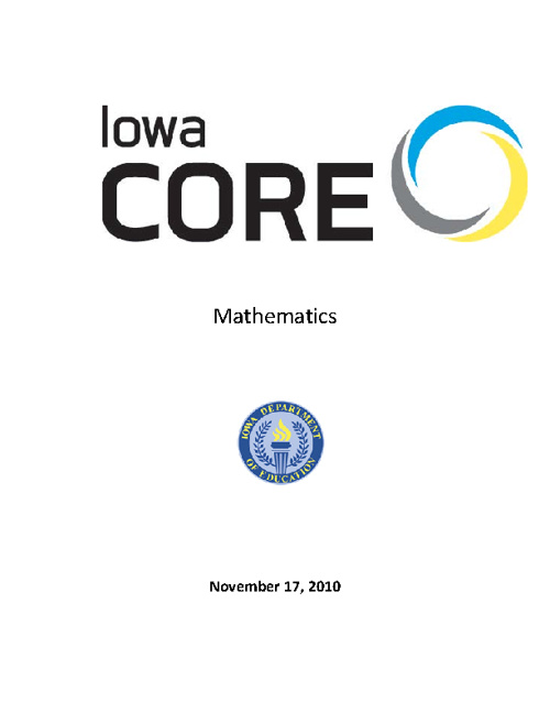 Iowa Core Math