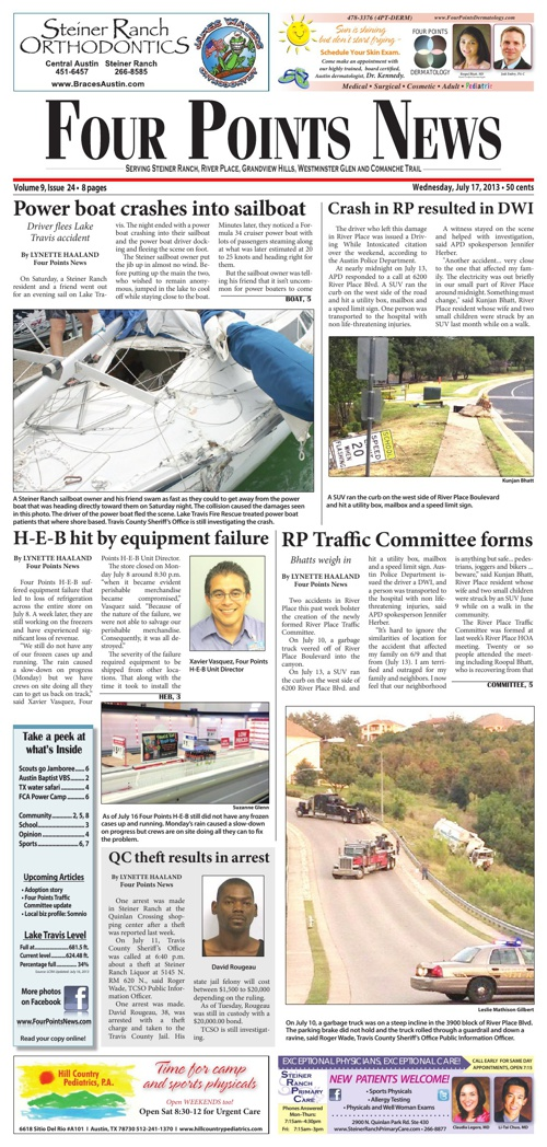 Four Points News July 17 2013 Issue