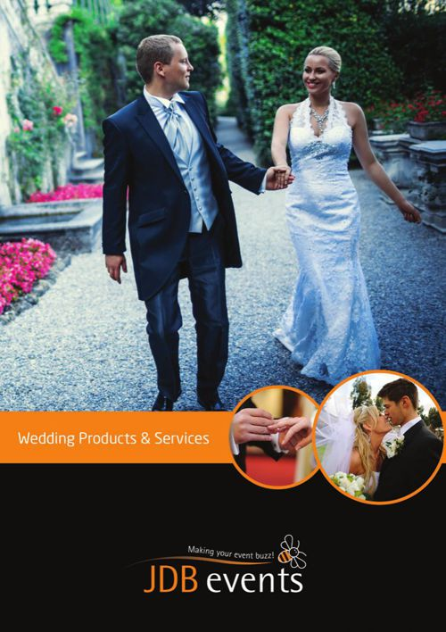 JDB Events - Wedding Brochure