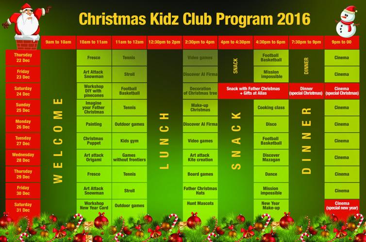 Kidz program christmas 16