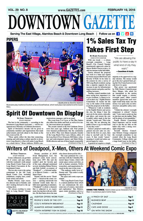 Downtown Gazette  |  February 19, 2016