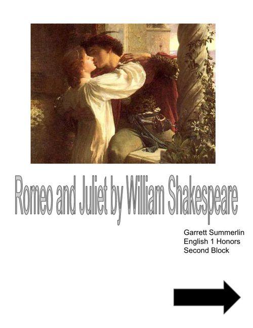 Romeo & Juliet Scrapbook (2)