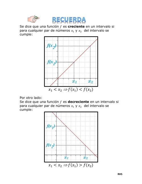 Análisis gráfico de la derivada