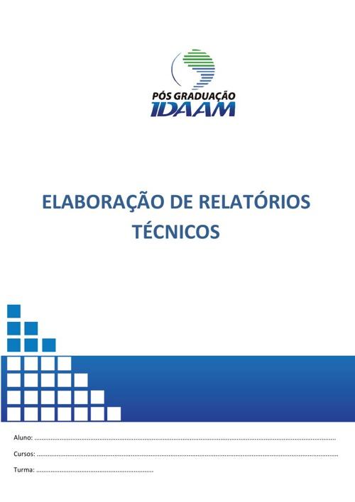Elaboração de Relatórios Técnicos