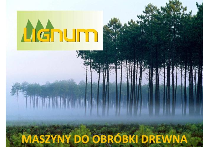 Oferta firmy LIGNUM