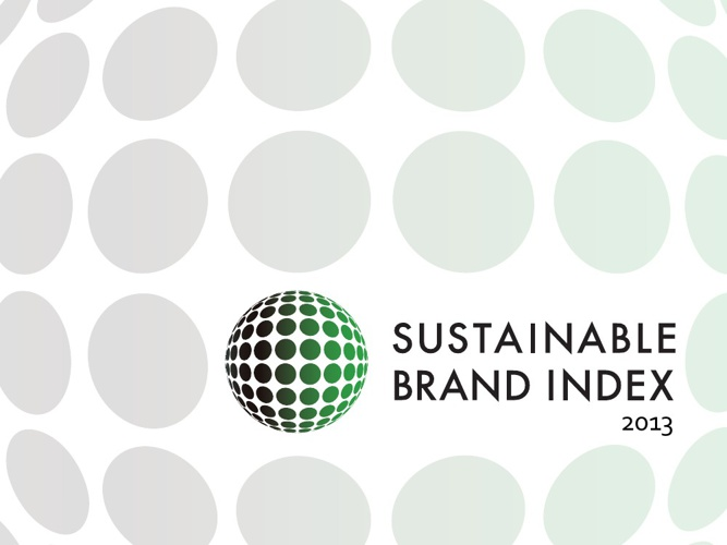 Sustainable Brand Index 2013 - Dummy Report