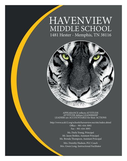 Havenview Middle School Teacher Planner 2017 2018